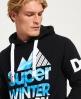 Superdry Winter Sports hættetrøje Sort