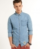 Superdry London Loom Shirt Blue