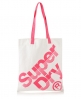 Superdry Calico Tote Bag Pink