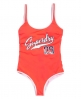 Superdry Varsity '09 Swimsuit Red