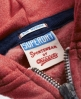 Superdry SD Athletic Zip Hoodie Red