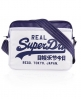 Superdry Two Tone Alumni Bag White