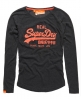 Superdry Vintage Logo T-shirt Grey