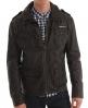 Superdry Brad Leather Jacket Brown