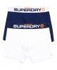 Superdry Lot de deux boxers Sport Bleu Marine