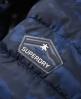 Superdry Fuji Slim Kapuzenjacke mit Doppelreißverschluss Blau