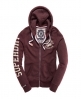 Superdry Phys Ed Trackster Hoodie Red