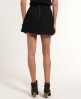 Superdry Tweed Skater Skirt Navy