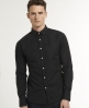 Superdry Cut Away Collar Shirt Black