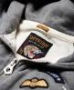 Superdry Willow Badge Kapuzenjacke Grau