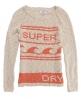 Superdry Wave Rider Knit Cream
