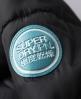 Superdry Toggle Puffle Jacket Black