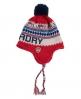 Superdry Nordic Logo Tassel Hat Red