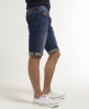 Superdry Officer Slim Shorts Mid Blue