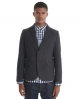 Superdry Porter Tweed Blazer Dk Grey
