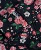 Superdry Ombre Roses Hoodie Navy