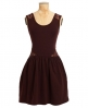 Superdry Lace Cutout Skater Dress Purple