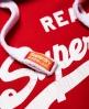Superdry Vintage Logo Mono Hoodie Red