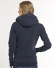 Superdry Orange Label Zip Hoodie Navy