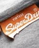 Superdry Vintage Logo Vest Grey
