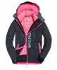 Superdry Giacca da sci Super SD Multi Nero