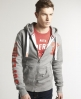 Superdry SD Trackster Hoodie Light Grey