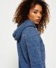 Superdry Vintage Logo Sequin Hoodie Blue