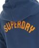 Superdry 75 Wing Hoodie Blue