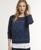Superdry Hyper Sporty Top Navy