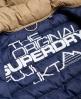 Superdry Cazadora con capucha y cremallera doble Fuji Habano