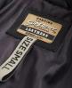 Superdry Shrunken Leather Biker Jacket Black
