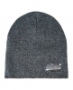 Superdry Basic Tonal Embroidery Beanie Grey