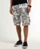 Superdry Camo Ripstop Shorts Light Grey