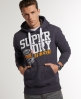 Superdry Ball Park Hoodie Purple