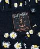 Superdry 50's Boardwalk Kleid  Marineblau