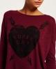 Superdry Heart Arrow T-shirt Red