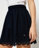 Superdry Lacy Prairie Skirt  Navy