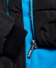 Superdry Cazadora con capucha de pelo Sports Puffer Negro