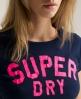 Superdry Coaching T-shirt Navy