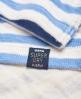 Superdry Sweat à capuche Stripe Pier  Bleu