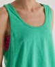 Superdry Low Arm Hole Vest Green