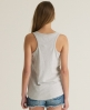 Superdry Embroidered Pocket Tank Grey