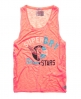 Superdry Trophy Burnout Vest Orange