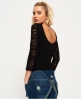 Superdry Melville Lace Bodysuit  Black