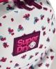 Superdry Montana Rucksack mit verspieltem Dschungel-Print Weiß