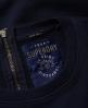 Superdry Mariner Sweatkleid Marineblau