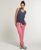 Superdry Slim Fit Heel Pop Joggers Pink