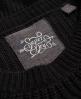 Superdry Arizona Lace Up Rib Knit Jumper Black