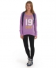Superdry Number Burnout T-shirt Purple
