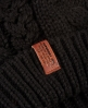 Superdry North Cable Bobble Hat Black